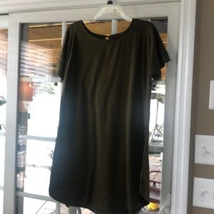 Olive Green Reborn Tunic Great Shape